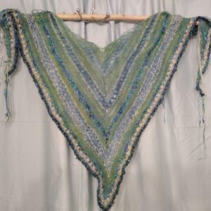 Whisper of Spring Shawl