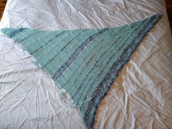 Tide Pool - Blessing Shawl