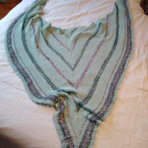 Sea-Misty Shawl