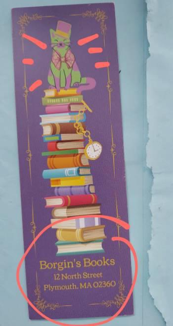 Borgin's Books poster